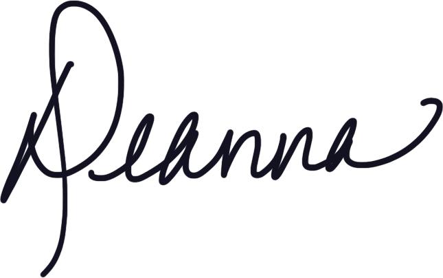 Deanna Moffitt Signature
