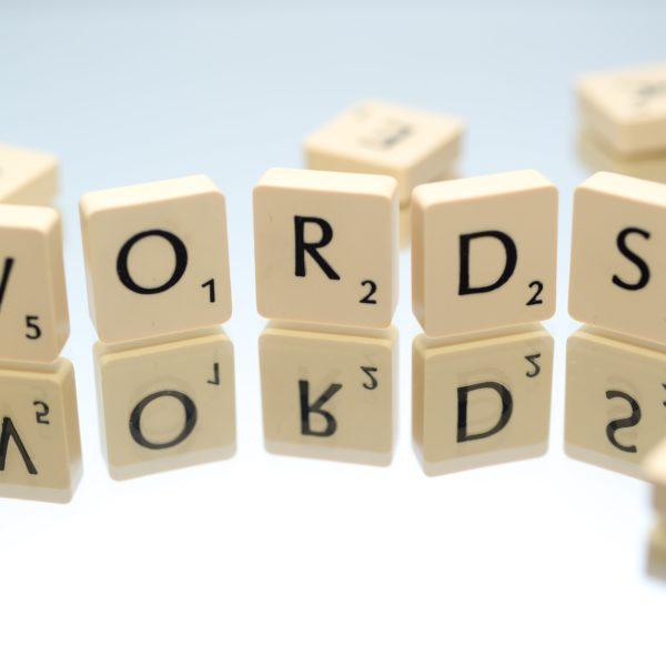 words scravbble block